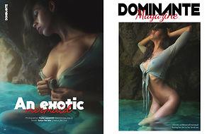 DOMINANTE French Magazine La Muses Editi
