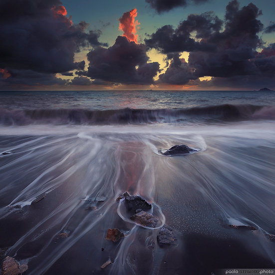 Oil Painting the Beach