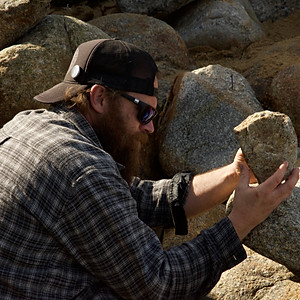 Monterey Bay Rock Stacking
