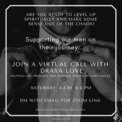The Mens virtual circles begin this Saturday