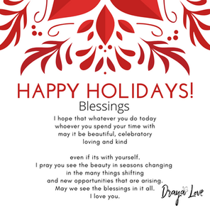 Seasons and blessings