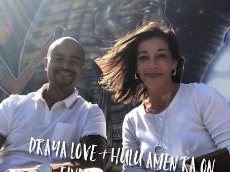 Draya Love and Hulu Amen Ra on finding happiness and existing in that state.