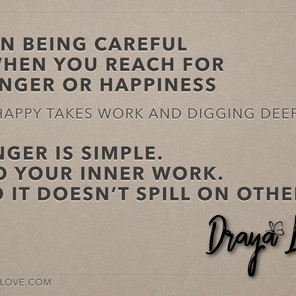On choosing happy over angry.