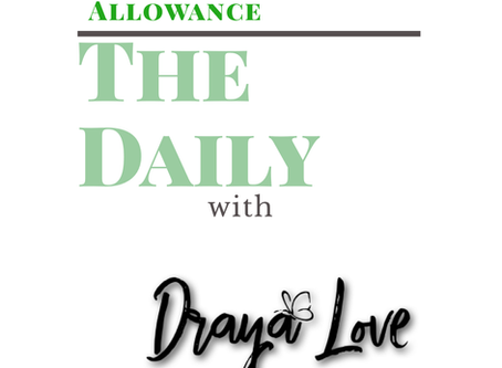 The Daily for October 22, 2019 - Allowance card.