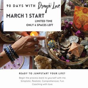 90 days w Draya Love