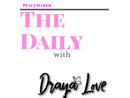 The Daily for September 20, 2019 - Peacemaking