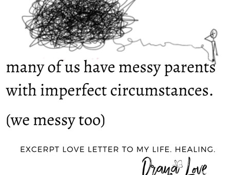 We messy too