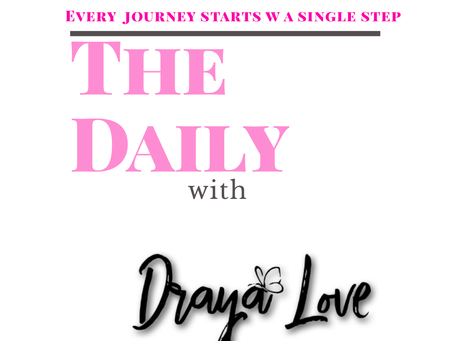 The Daily for October 28, 2019 -  Every journey starts with a single step card.