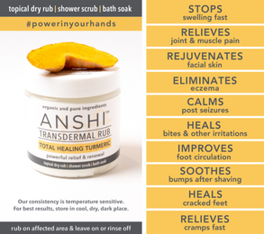 CODE DRAYA15 for Discount ANSHI Total Healing Turmeric
