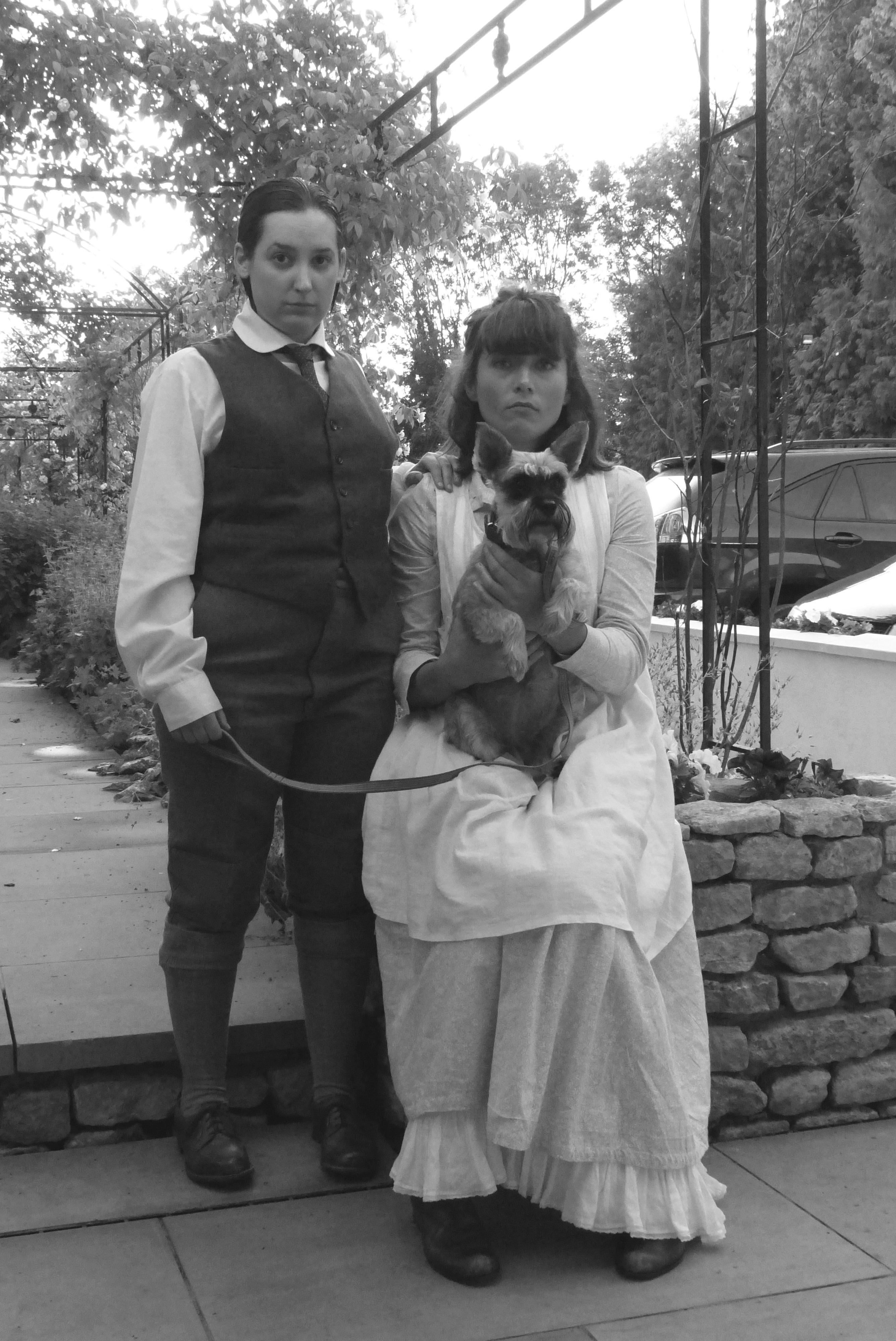Miles and Flora copyright Fay Goodridge