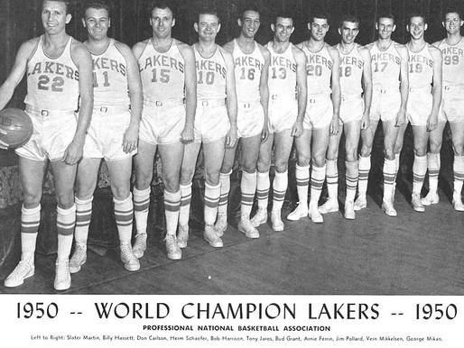 8 NBA karalistes, kas dominējušas. Mineapolisas ''Lakers''.