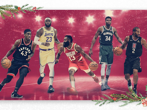 Spēles dāvanu vietā. Ieskats pirms NBA Ziemassvētku spēlēm.