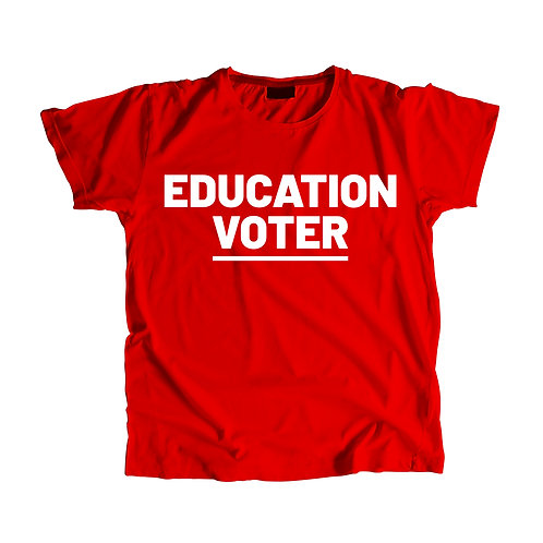 Education Voter Shirt