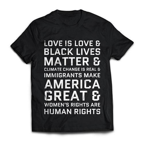 Advocacy Message Shirt