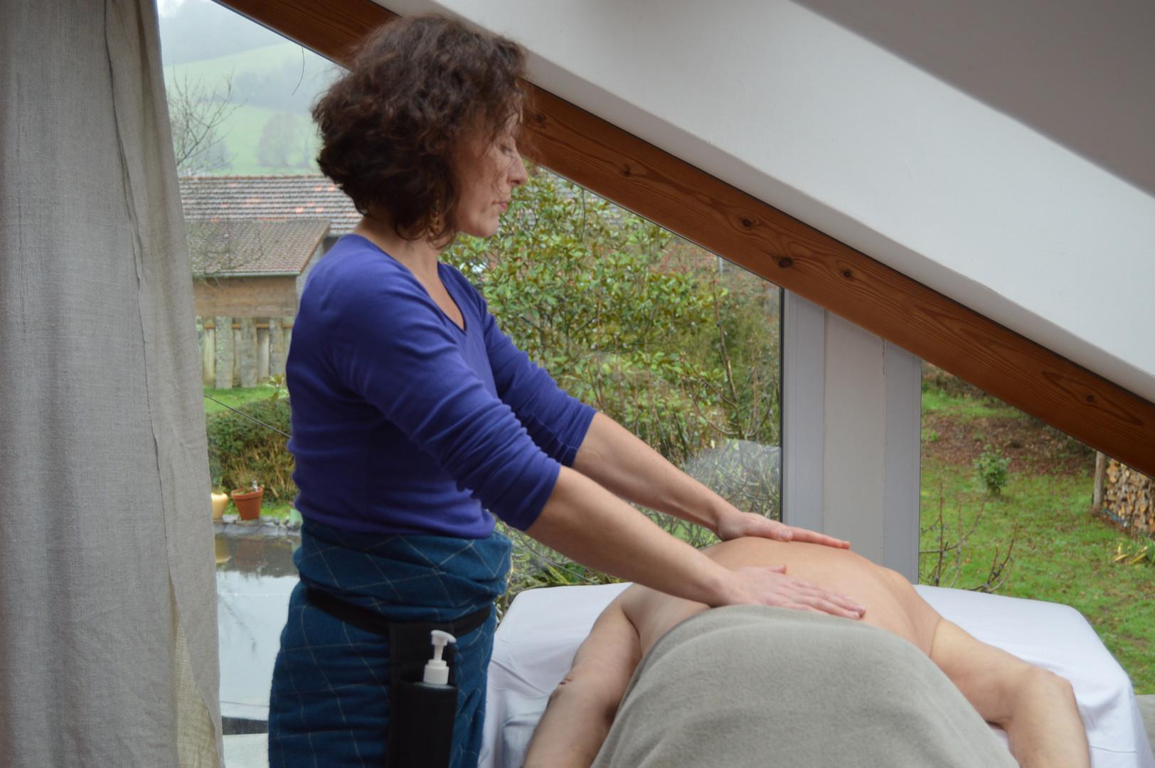 Toucher creatif massage Amélie Sizoff Ca