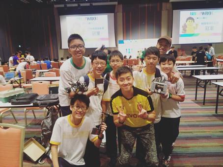 香港機械人挑戰賽2016相撲橫綱挑戰賽 - 銅樂高獎