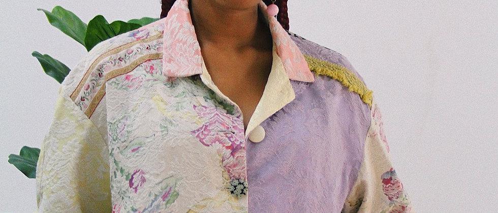 Vintage patchwork Blazer