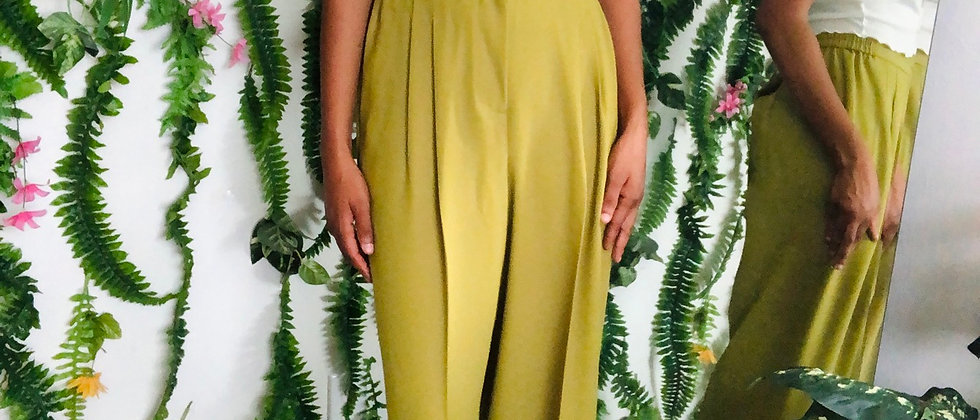 Vintage Green Trousers
