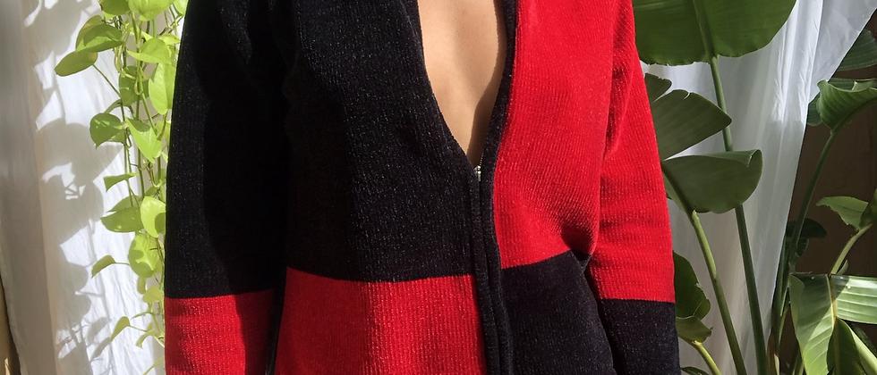 90's Zip Up Sweater