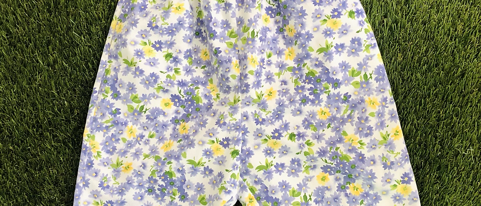Vintage Floral Shorts