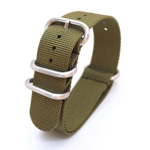 Khaki Canvas Watch Strap