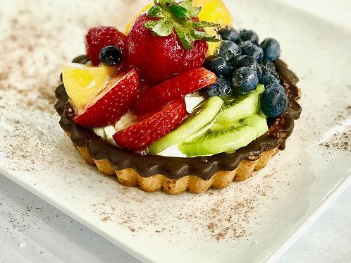 Large fruit tart - 2 pieces