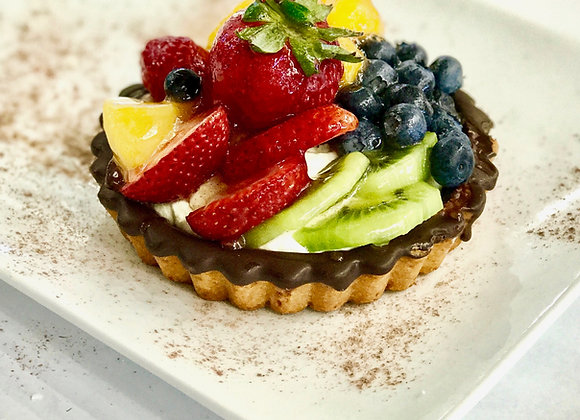 Large fruit tart - 2 pieces