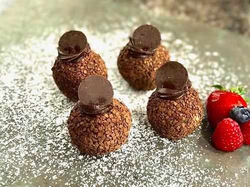 Mini rum balls - 2 pieces