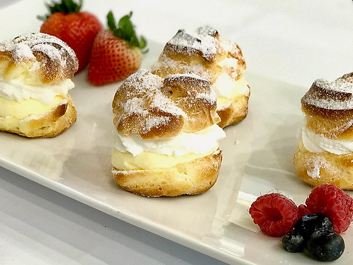 Cream puff - 2 pieces