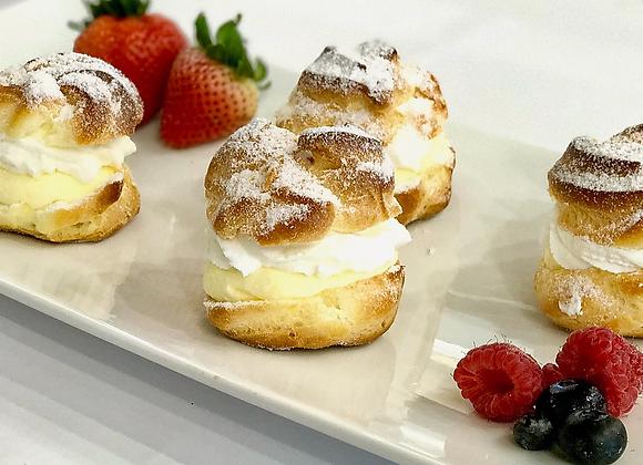 Cream puff - 2 pieces