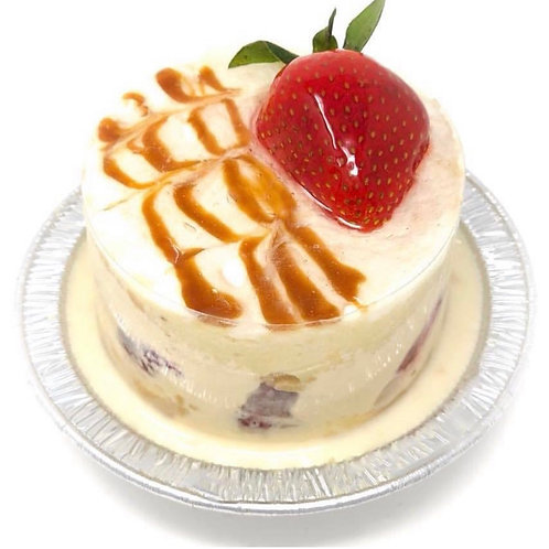 Large strawberry tres leches - 2 pieces