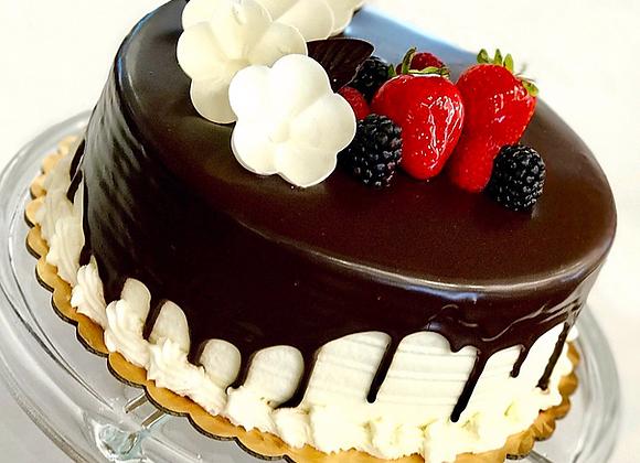 Strawberry Shortcake with ganache