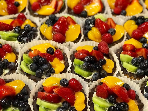 Mini fruit tart - 2 pieces