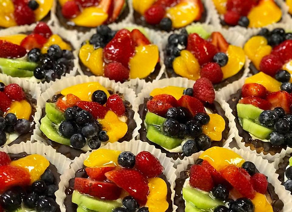 Mini fruit tart - 2 pieces