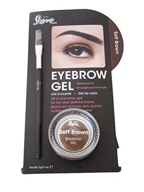 Eyebrow Gel Soft Brown 2nd Love