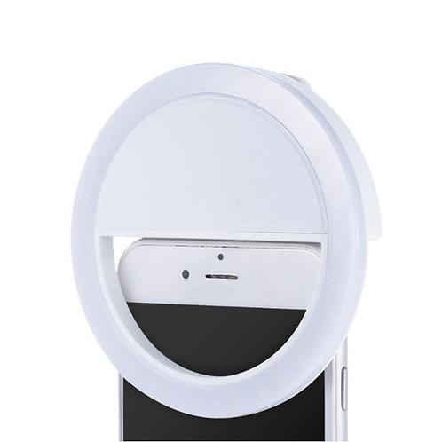Aro de luz LED mini para celular