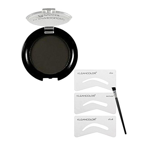 Essential Kit Eyebrows Black Kleancolor