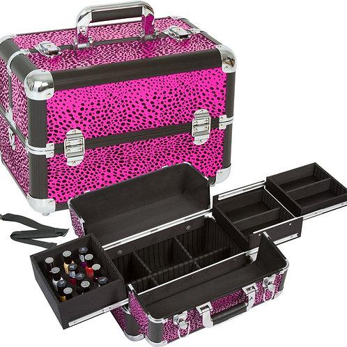 Pink Leopard Maletín Case Seya