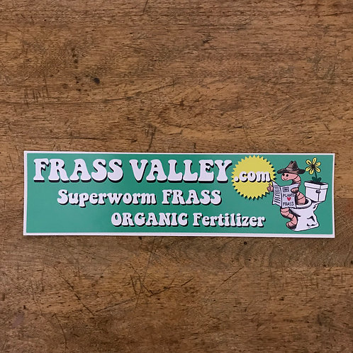 FRASS VALLEY BUMPER STICKER