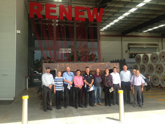 Interface's Minto manufacturing plant - Performance Drivers Consortium site tour