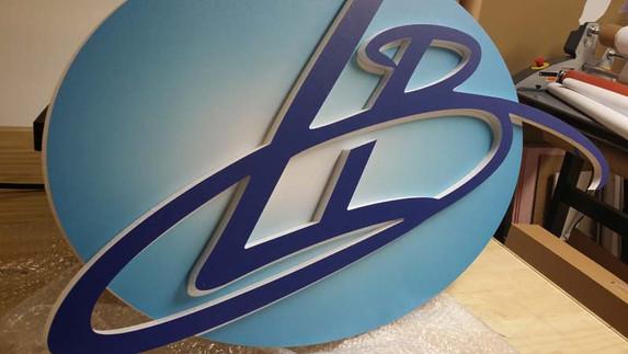 CNC cut Logo