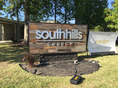 Outdoor PVC sign