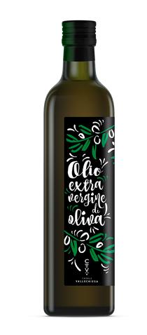 """Olio Extravergine di Oliva """"La Cava di Santa Croce"""" 750 ml."""