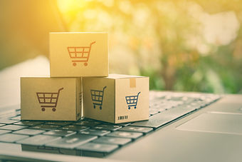 Online shopping / ecommerce and delivery