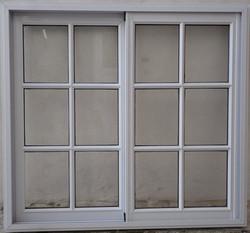 Ventana vidrio repartido