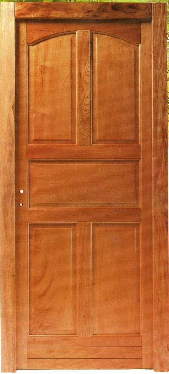 Puerta medio vidrio