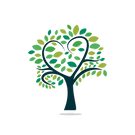 —Pngtree—abstract heart tree vector logo