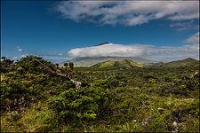 Azores - stratovolcano Mount Pico