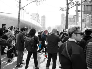 It's a good vibe - Seoul Fashion Week FW16