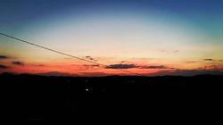 Rosso di sera degustando Barbera #cascinasansiro #barberadasti #piemonte #langhe #monferrato #landsc
